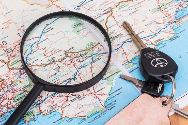 mapa i akcesoria samochodowe