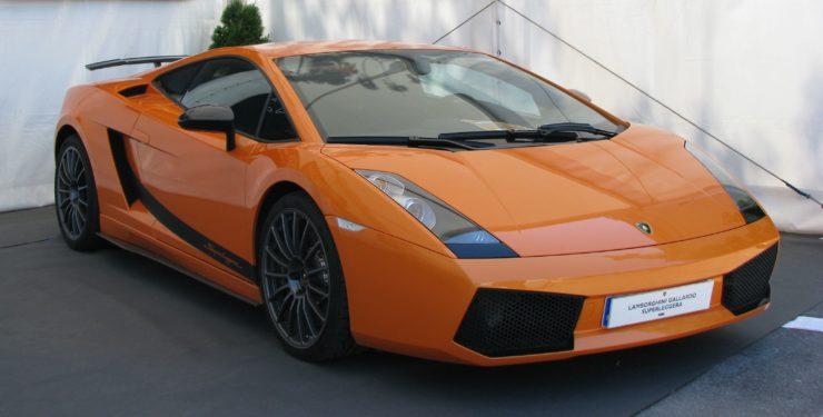 Przejazd Lamborghini Gallardo